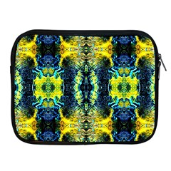 Mystic Yellow Green Ornament Pattern Apple Ipad 2/3/4 Zipper Cases by Costasonlineshop