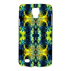 Mystic Yellow Green Ornament Pattern Galaxy S4 Active