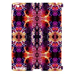 Mystic Red Blue Ornament Pattern Apple Ipad 3/4 Hardshell Case (compatible With Smart Cover)