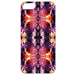 Mystic Red Blue Ornament Pattern Apple Iphone 5 Classic Hardshell Case by Costasonlineshop