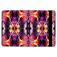 Mystic Red Blue Ornament Pattern Ipad Air Flip by Costasonlineshop