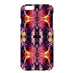 Mystic Red Blue Ornament Pattern Apple Iphone 6 Plus/6s Plus Hardshell Case