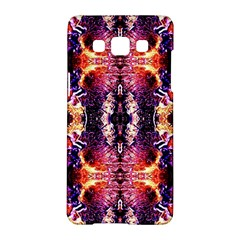 Mystic Red Blue Ornament Pattern Samsung Galaxy A5 Hardshell Case  by Costasonlineshop