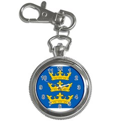Banner Of Lordship Of Ireland (1177 1542) Key Chain Watches by abbeyz71