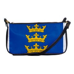 Banner Of Lordship Of Ireland (1177 1542) Shoulder Clutch Bags by abbeyz71