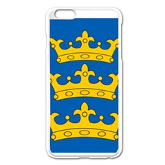 Banner Of Lordship Of Ireland (1177 1542) Apple Iphone 6 Plus/6s Plus Enamel White Case by abbeyz71