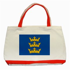 Banner Of Lordship Of Ireland (1177 1542) Classic Tote Bag (red) by abbeyz71
