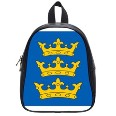 Banner Of Lordship Of Ireland (1177 1542) School Bags (small)  by abbeyz71