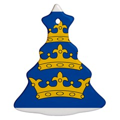 Banner Of Lordship Of Ireland (1177 1542) Ornament (christmas Tree)  by abbeyz71