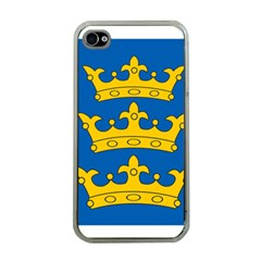 Banner Of Lordship Of Ireland (1177 1542) Apple Iphone 4 Case (clear) by abbeyz71