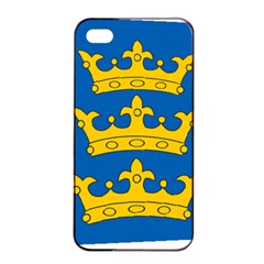 Banner Of Lordship Of Ireland (1177 1542) Apple Iphone 4/4s Seamless Case (black) by abbeyz71