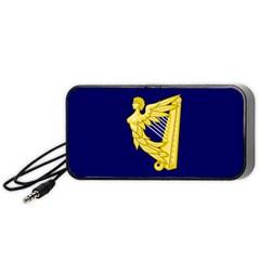 Royal Standard Of Ireland (1542 1801) Portable Speaker (black)