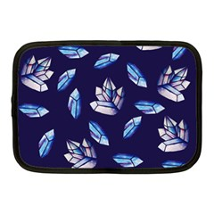 Mystic Crystals Witchy Vibes  Netbook Case (medium)  by BubbSnugg