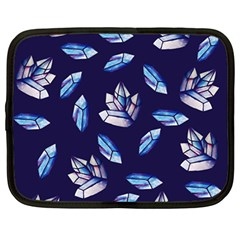 Mystic Crystals Witchy Vibes  Netbook Case (large) by BubbSnugg