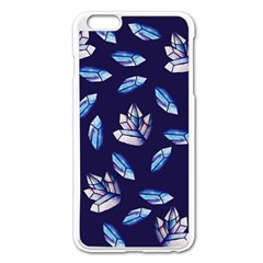 Mystic Crystals Witchy Vibes  Apple Iphone 6 Plus/6s Plus Enamel White Case by BubbSnugg