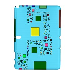 Squares On A Blue Background      Htc Desire 601 Hardshell Case by LalyLauraFLM