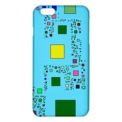 Squares On A Blue Background      Iphone 6/6s Tpu Case by LalyLauraFLM