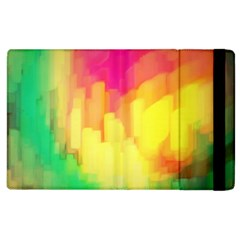 Pastel shapes painting      Kindle Fire (1st Gen) Flip Case by LalyLauraFLM