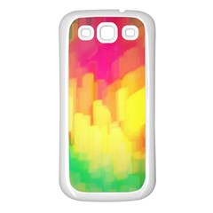 Pastel shapes painting      Samsung Galaxy S7710 Xcover 2 Hardshell Case by LalyLauraFLM