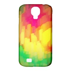 Pastel Shapes Painting      Samsung Galaxy Tab 3 (10 1 ) P5200 Hardshell Case by LalyLauraFLM