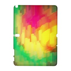 Pastel shapes painting      HTC Desire 601 Hardshell Case by LalyLauraFLM