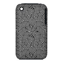 Modern Intricate Optical Iphone 3s/3gs by dflcprints