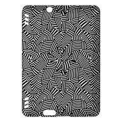 Modern Intricate Optical Kindle Fire Hdx Hardshell Case by dflcprints
