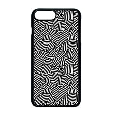 Modern Intricate Optical Apple Iphone 7 Plus Seamless Case (black) by dflcprints