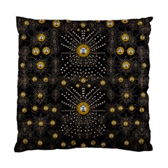 Lace Of Pearls In The Earth Galaxy Pop Art Standard Cushion Case (two Sides) by pepitasart