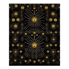 Lace Of Pearls In The Earth Galaxy Pop Art Shower Curtain 60  X 72  (medium)  by pepitasart