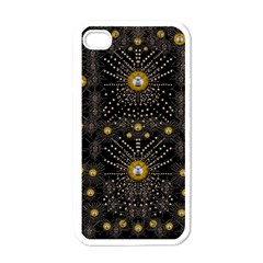 Lace Of Pearls In The Earth Galaxy Pop Art Apple Iphone 4 Case (white) by pepitasart