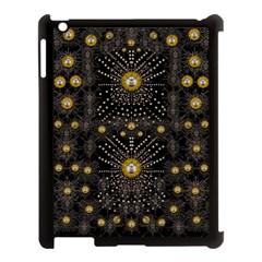 Lace Of Pearls In The Earth Galaxy Pop Art Apple Ipad 3/4 Case (black) by pepitasart