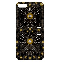 Lace Of Pearls In The Earth Galaxy Pop Art Apple Iphone 5 Hardshell Case With Stand by pepitasart