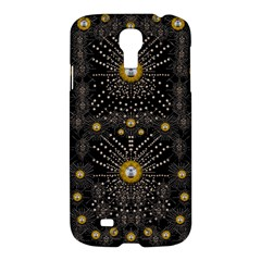 Lace Of Pearls In The Earth Galaxy Pop Art Samsung Galaxy S4 I9500/i9505 Hardshell Case by pepitasart