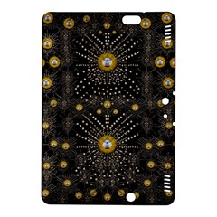 Lace Of Pearls In The Earth Galaxy Pop Art Kindle Fire Hdx 8 9  Hardshell Case by pepitasart