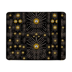 Lace Of Pearls In The Earth Galaxy Pop Art Samsung Galaxy Tab Pro 8 4  Flip Case by pepitasart