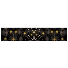 Lace Of Pearls In The Earth Galaxy Pop Art Flano Scarf (small)