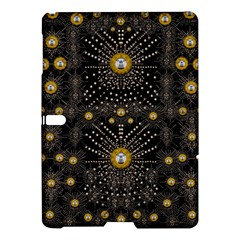 Lace Of Pearls In The Earth Galaxy Pop Art Samsung Galaxy Tab S (10 5 ) Hardshell Case  by pepitasart