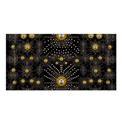 Lace Of Pearls In The Earth Galaxy Pop Art Satin Shawl by pepitasart