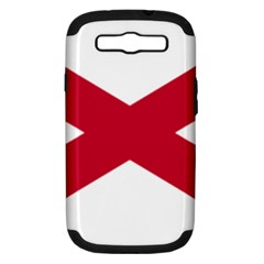 St  Patrick s Saltire Of Ireland Samsung Galaxy S Iii Hardshell Case (pc+silicone) by abbeyz71