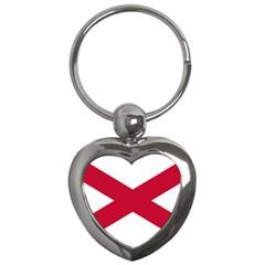 St  Patrick s Saltire Of Ireland Key Chains (heart)  by abbeyz71