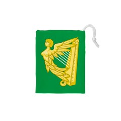 The Green Harp Flag Of Ireland (1642 1916) Drawstring Pouches (xs)  by abbeyz71