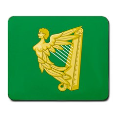 The Green Harp Flag Of Ireland (1642 1916) Large Mousepads by abbeyz71