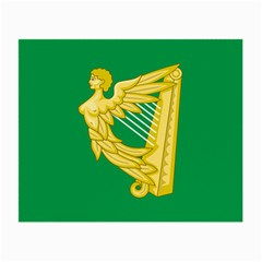 The Green Harp Flag Of Ireland (1642 1916) Small Glasses Cloth (2 Side) by abbeyz71