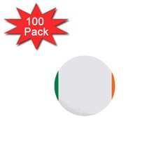 Flag Of Ireland  1  Mini Buttons (100 Pack)  by abbeyz71