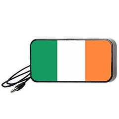 Flag Of Ireland  Portable Speaker (black) by abbeyz71