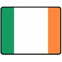 Flag Of Ireland  Double Sided Fleece Blanket (medium)  by abbeyz71