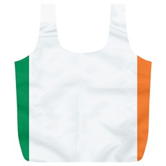 Flag Of Ireland  Full Print Recycle Bags (l)  by abbeyz71