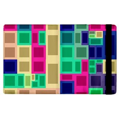 Rectangles and squares        Kindle Fire (1st Gen) Flip Case by LalyLauraFLM