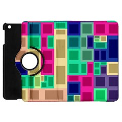 Rectangles And Squares        Apple Ipad 3/4 Flip 360 Case